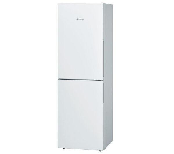 Image of BOSCH KGN34VW30G Fridge Freezer - White, White
