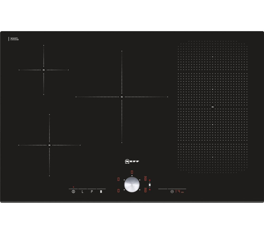 NEFF T51T86X2 Electric Induction Hob - Black