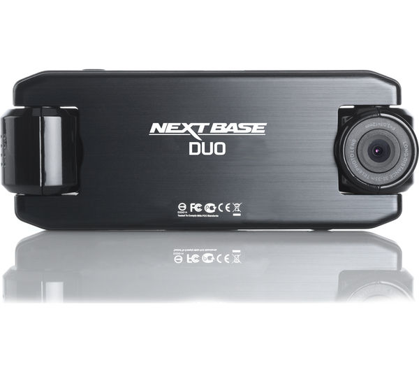 buy nextbase incarcam duo dash cam black free delivery currys. Black Bedroom Furniture Sets. Home Design Ideas