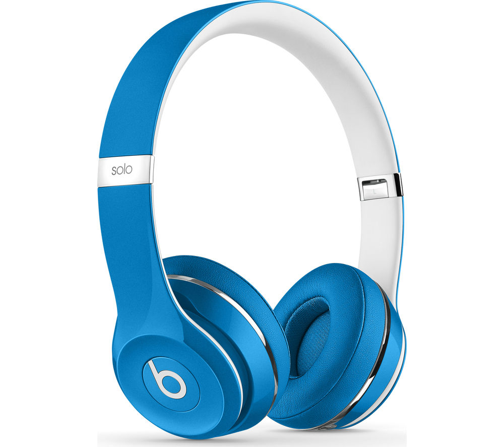 BEATS Solo 2 Headphones - Luxe Edition, Blue
