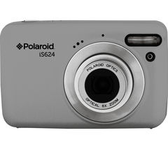 POLAROID IS624 Compact Camera - Silver