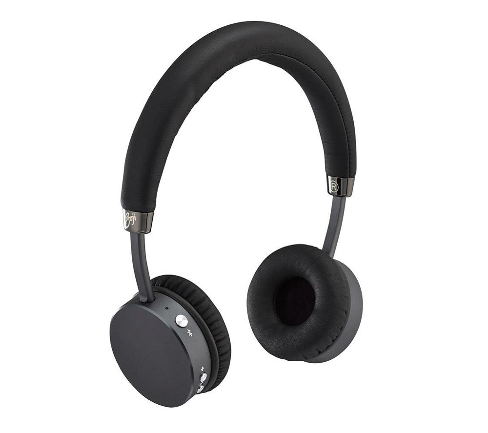 Click to view more of GOJI COLLECTION  Wireless Bluetooth Headphones - Black, Black