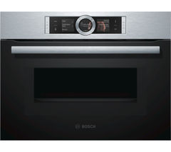 BOSCH CMG676BS1B Built-in Combination Microwave - Stainless Steel