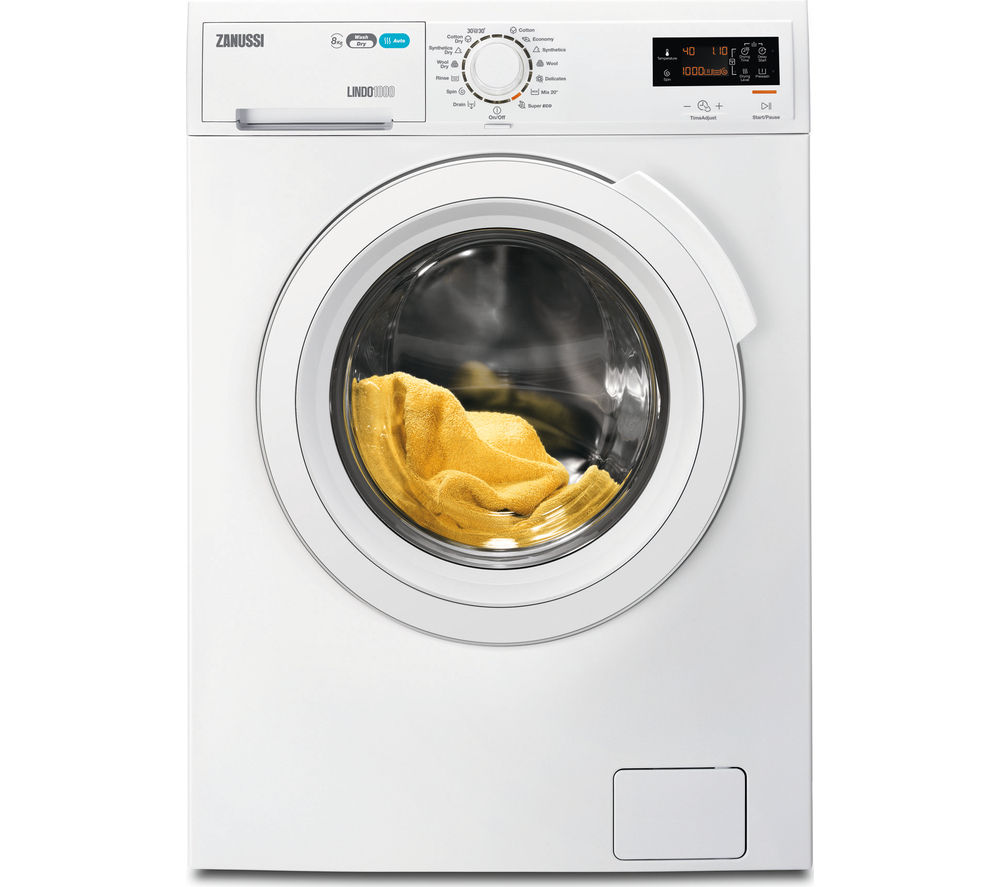 Buy Zanussi Zwd81683nw Washer Dryer White Free