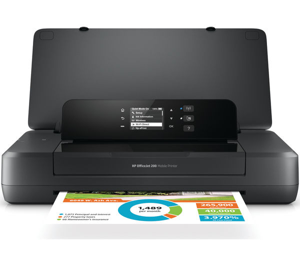 Image of HP OfficeJet 200 Mobile Wireless Printer
