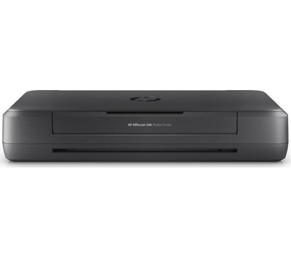 hp officejet 200 mobile wireless printer deals pc world. Black Bedroom Furniture Sets. Home Design Ideas