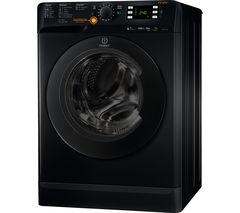 INDESIT Innex XWDE751480XS Washer Dryer - Black