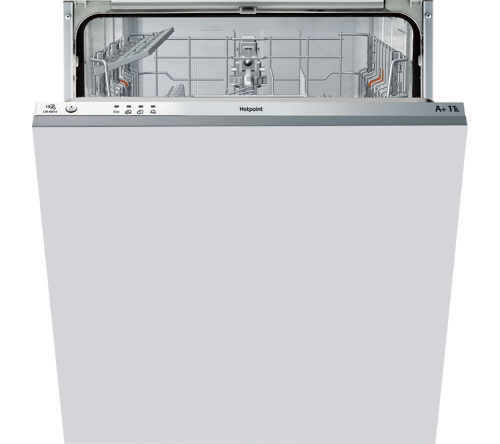 HOTPOINT  Aquarius LTB4B019 Fullsize Integrated Dishwasher
