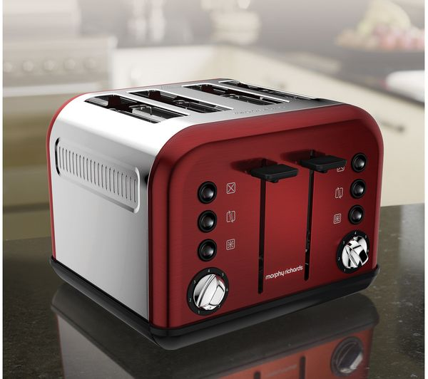 Morphy Richards Oven: Buy MORPHY RICHARDS Accents 242030 4-Slice Toaster
