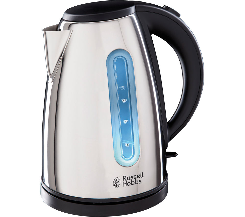 buy russell hobbs orleans polished 19390 jug kettle stainless steel free delivery currys. Black Bedroom Furniture Sets. Home Design Ideas