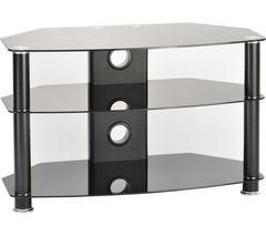 TTAP Classik Curve 600 TV Stand - Black