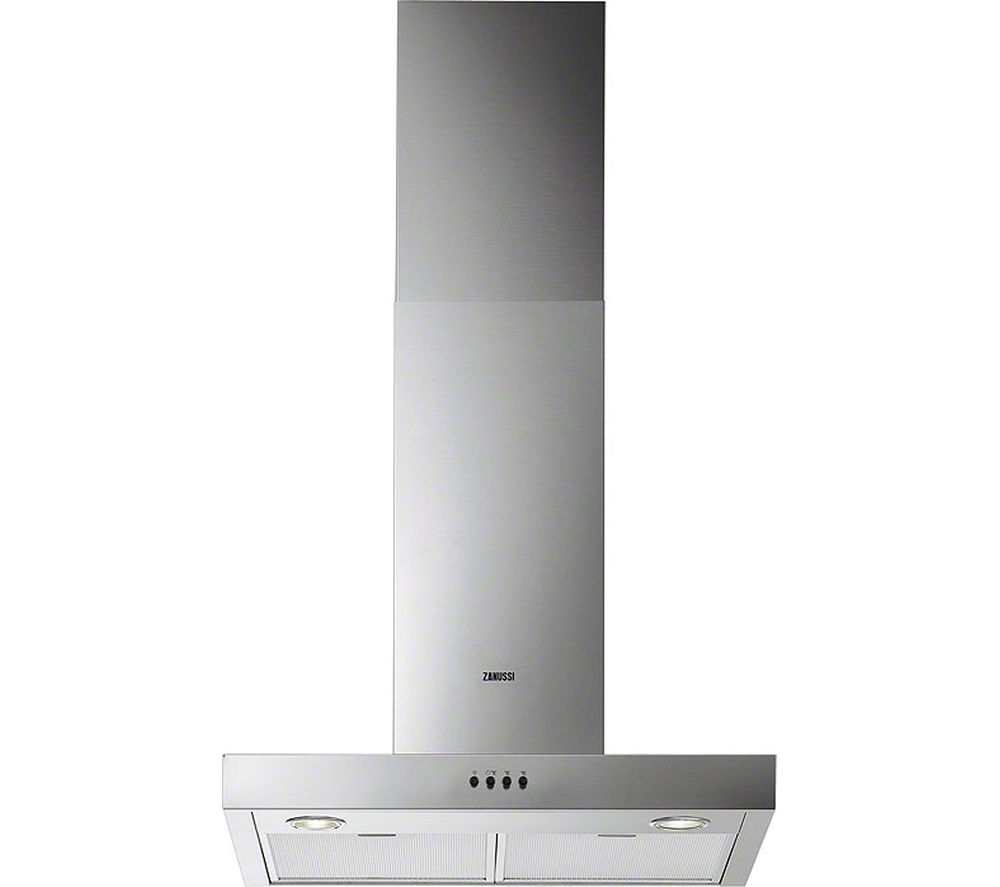 ZANUSSI  ZHC62661XA Chimney Cooker Hood  Stainless Steel Stainless Steel