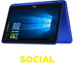 "DELL Inspiron 11 3000 11.6"" Touchscreen 2 in 1 - Blue"