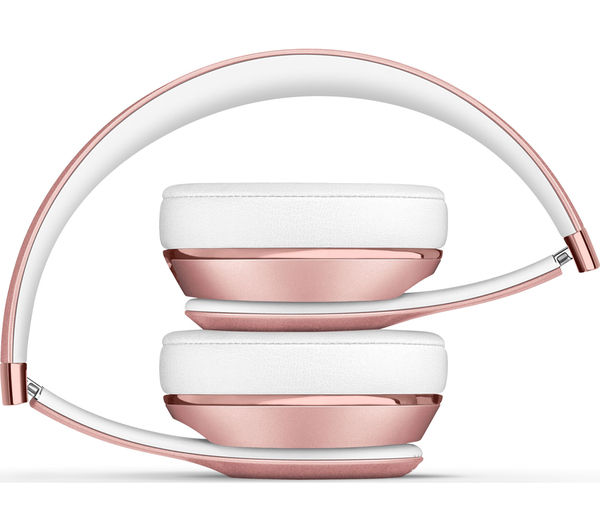 beats by dr dre solo 3 wireless bluetooth headphones rose gold deals pc world. Black Bedroom Furniture Sets. Home Design Ideas