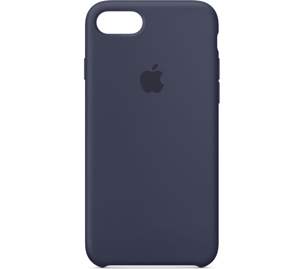 APPLE Silicone iPhone 7 Case - Midnight Blue