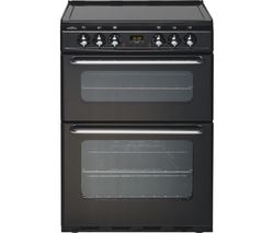 NEW WORLD EC600DOm 60 cm Electric Ceramic Cooker - Black
