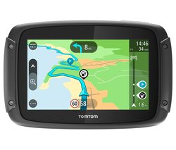 "TOMTOM Rider 420 Motorcycle 4.3"" Sat Nav - Full Europe Maps"