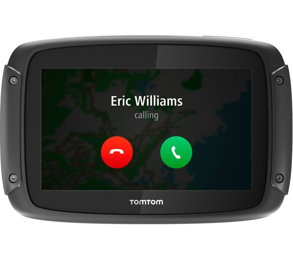 tomtom rider 420 motorcycle 4 3 sat nav full europe. Black Bedroom Furniture Sets. Home Design Ideas
