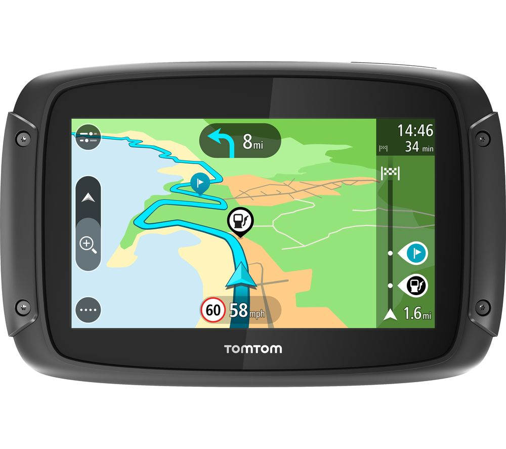Tomtom Rider   Sat Nav Full Europe Maps