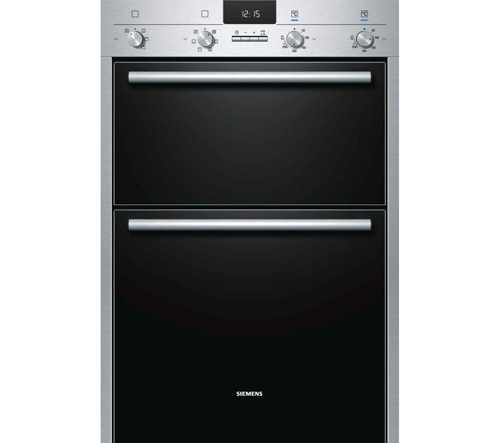 SIEMENS HB43MB520B Electric Double Oven - Stainless Steel