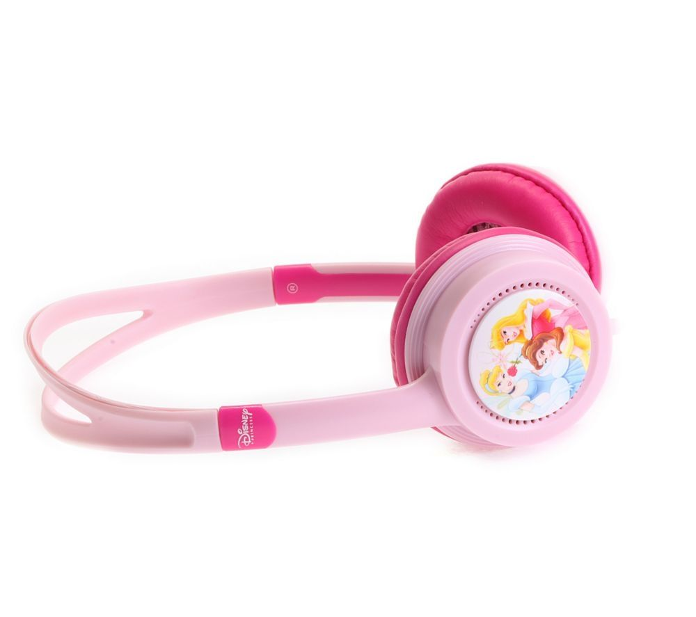 DISNEY  Princess Headphones  Pink Pink
