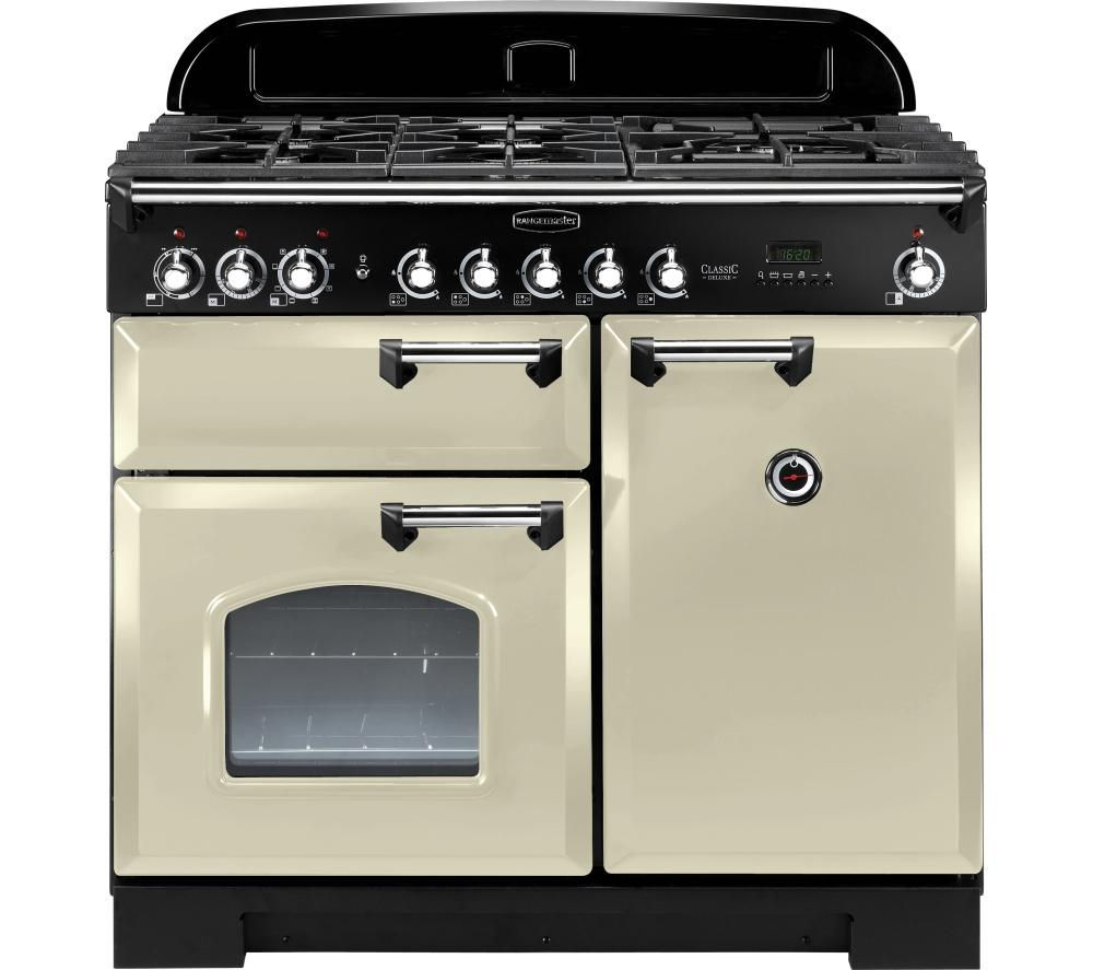 buy rangemaster classic deluxe 100 dual fuel range cooker. Black Bedroom Furniture Sets. Home Design Ideas