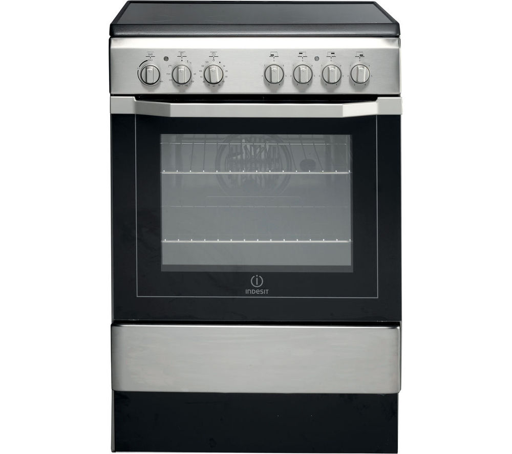 Indesit INDESIT I6VV2A(X)UK Electric Cooker  Stainless Steel Stainless Steel