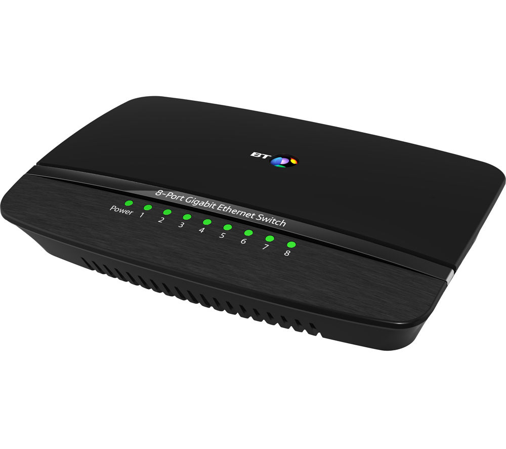 BT 8-Port Ethernet Switch