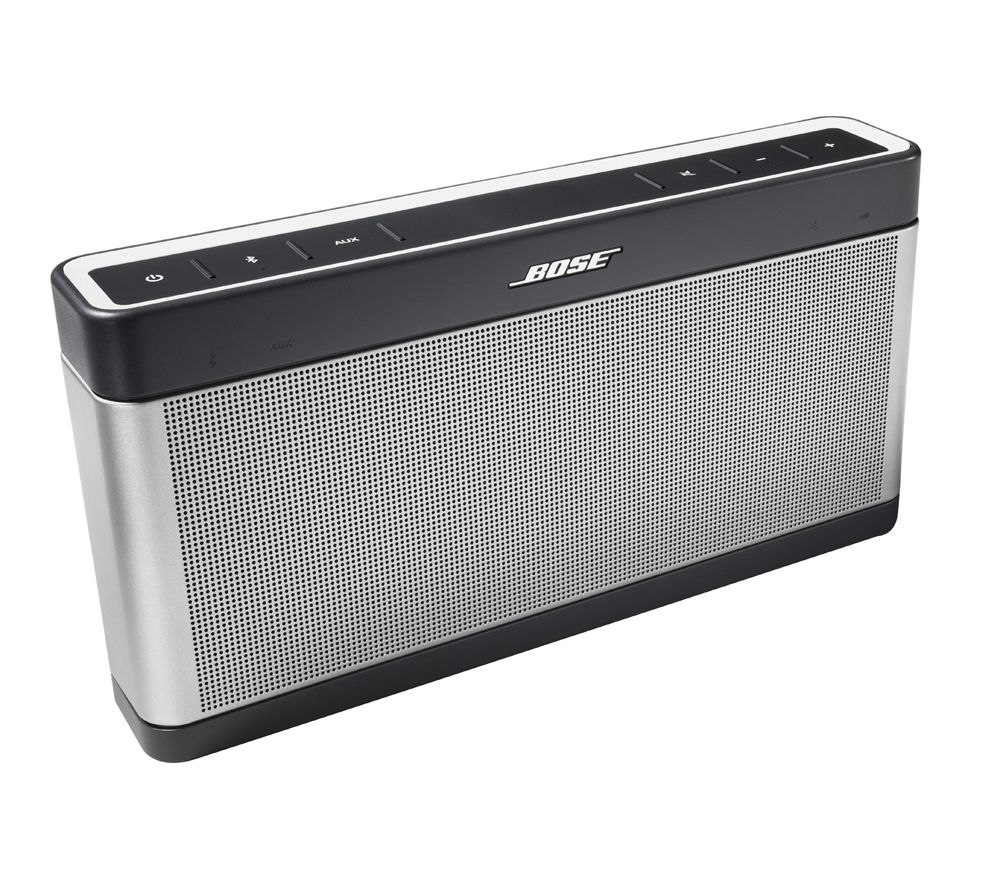 BOSE  SoundLink Mobile III Wireless Portable Speaker - Grey, Grey
