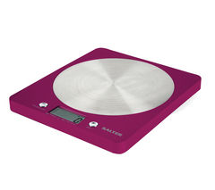 SALTER 1046 PKDR Colour Weigh Digital Kitchen Scales - Raspberry Pink