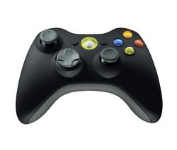 MICROSOFT Xbox 360 Wireless Controller for Windows – Black
