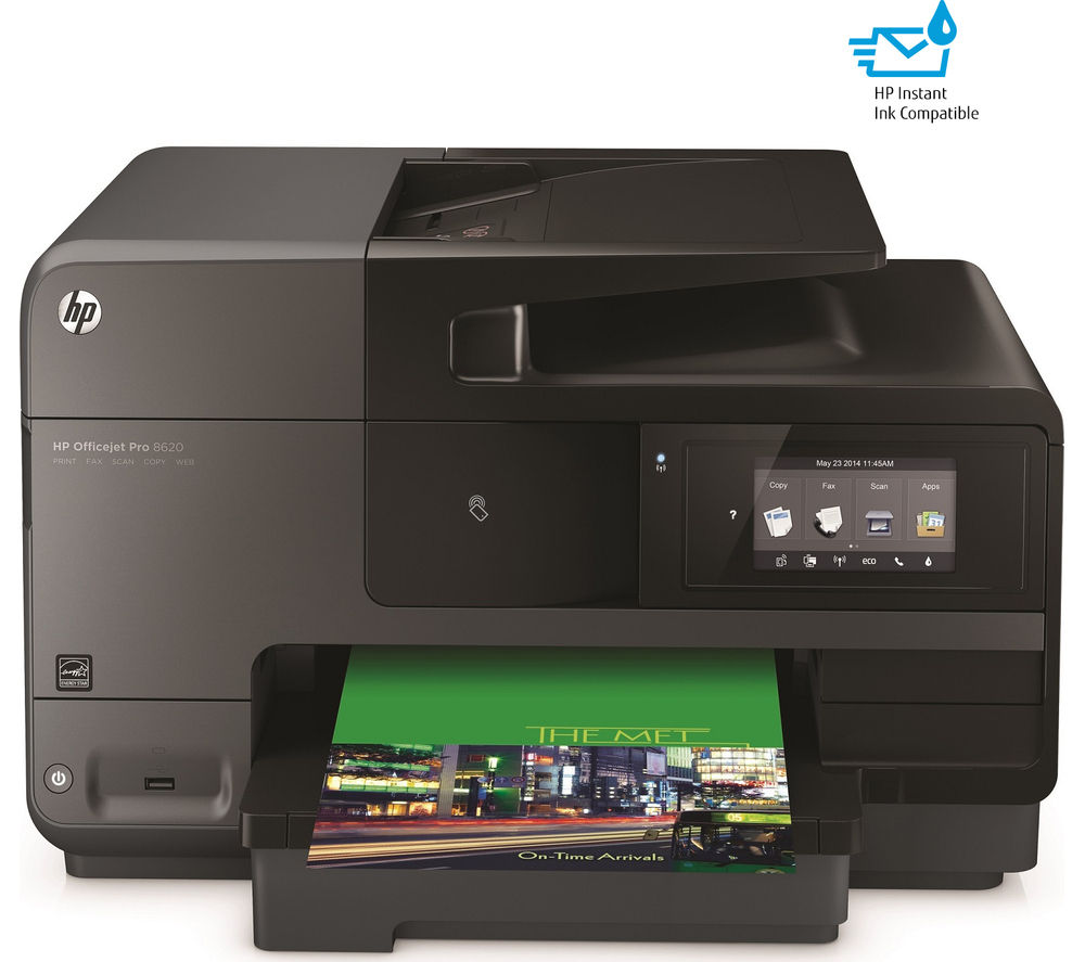 buy hp officejet pro 8620 all in one printer with fax 950xl 951 xl cyan magenta yellow. Black Bedroom Furniture Sets. Home Design Ideas