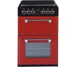 STOVES Richmond 550E Electric Ceramic Cooker - Red