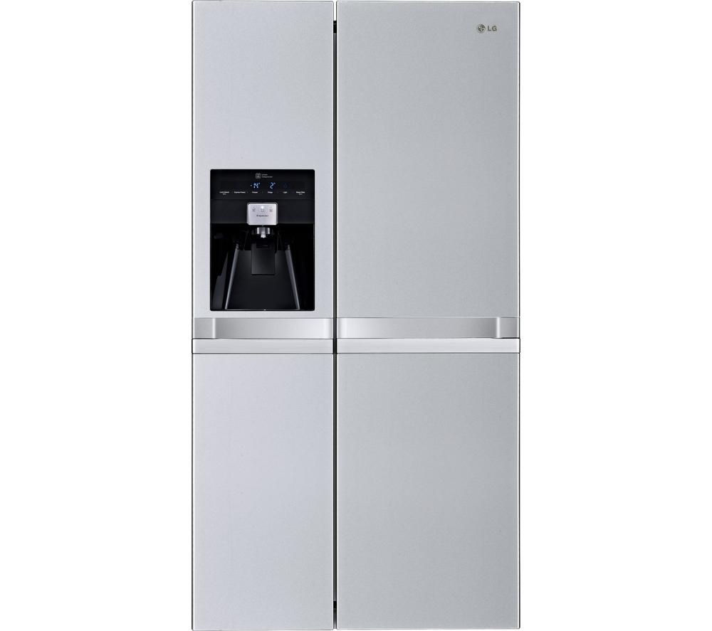 lg gsl545nsqv american style fridge freezer silver. Black Bedroom Furniture Sets. Home Design Ideas