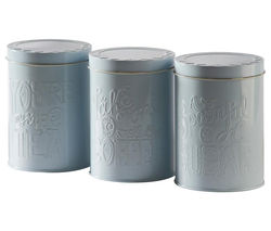 MASON CASH Bake My Day Round Storage Tins - Pack of 3