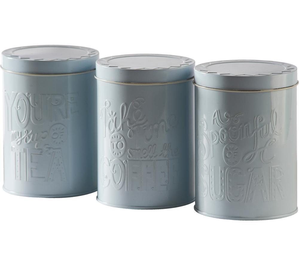 MASON CASH Bake My Day Round Storage Tins - Pack of 3