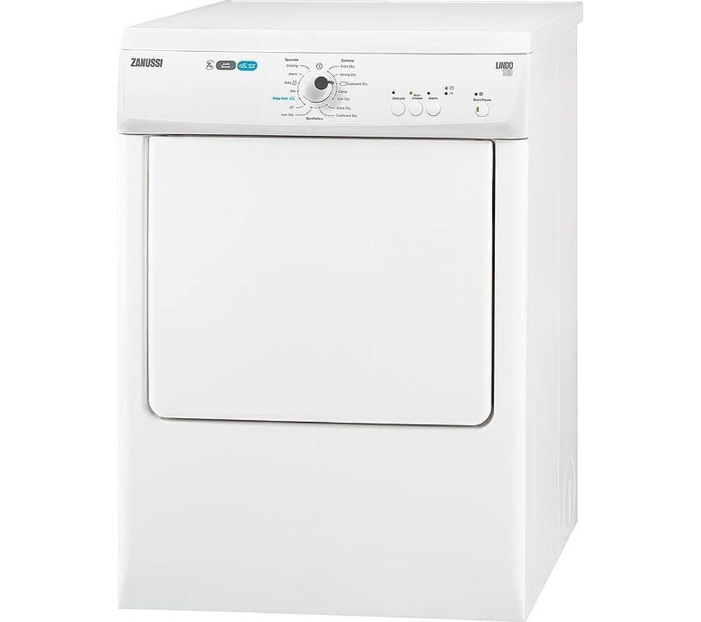 ZANUSSI ZTE7102PZ Vented Tumble Dryer - White