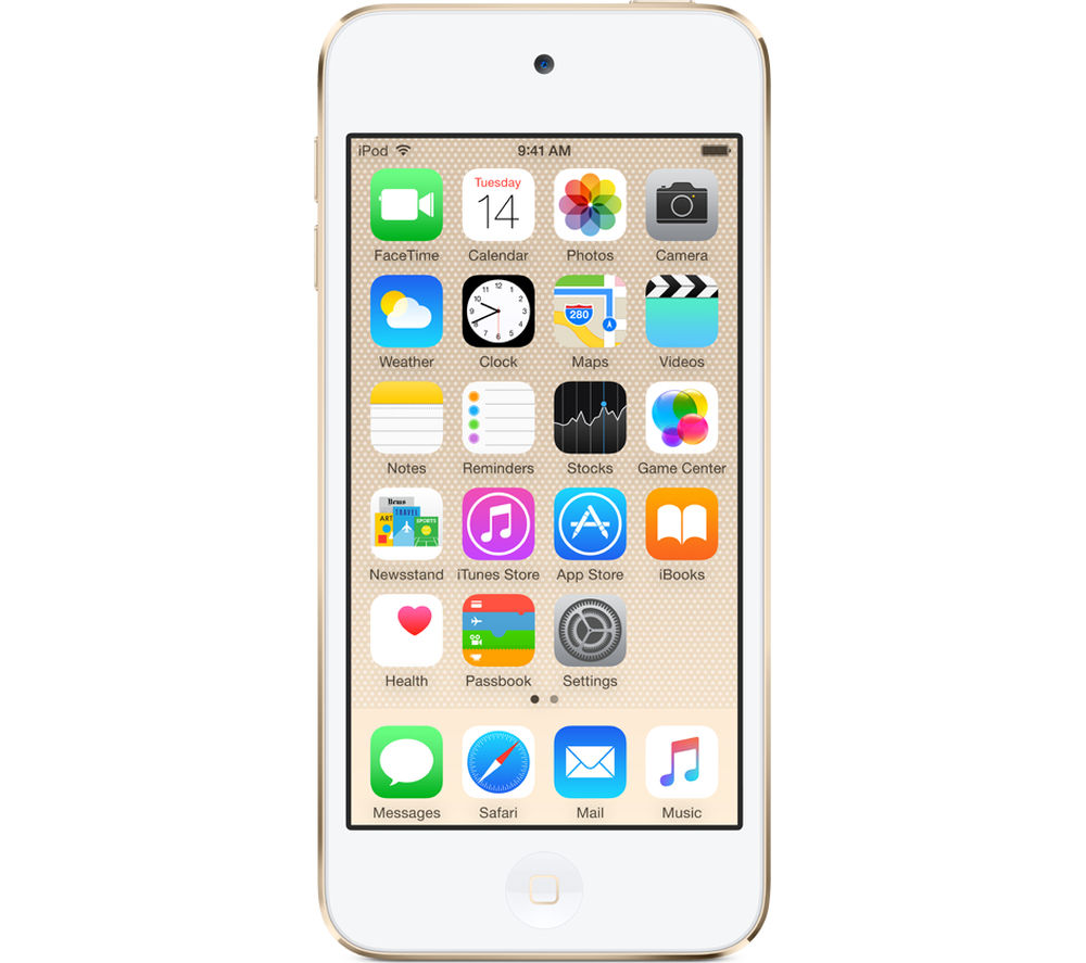APPLE iPod touch - 16 GB, 6th Generation, Gold