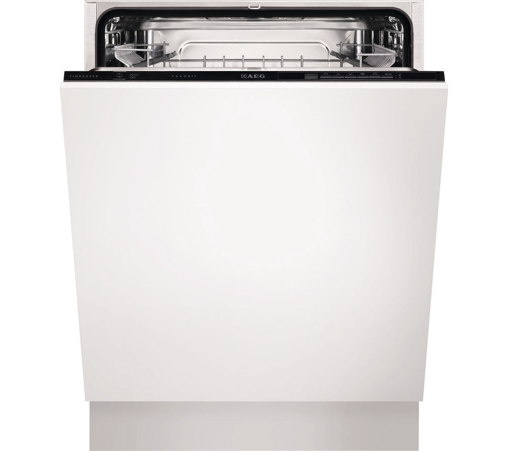 AEG  F55329Vi0 Fullsize Integrated Dishwasher