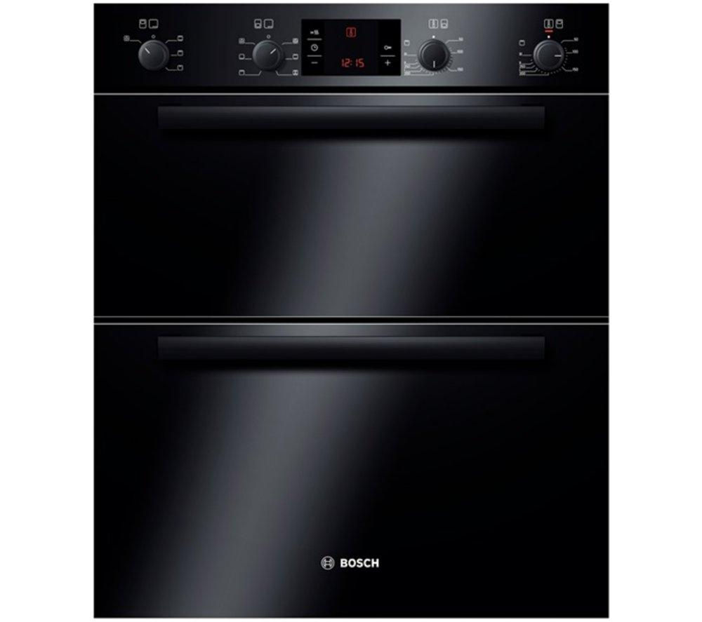BOSCH Classixx HBN43B260B Electric Built-under Double Oven - Black