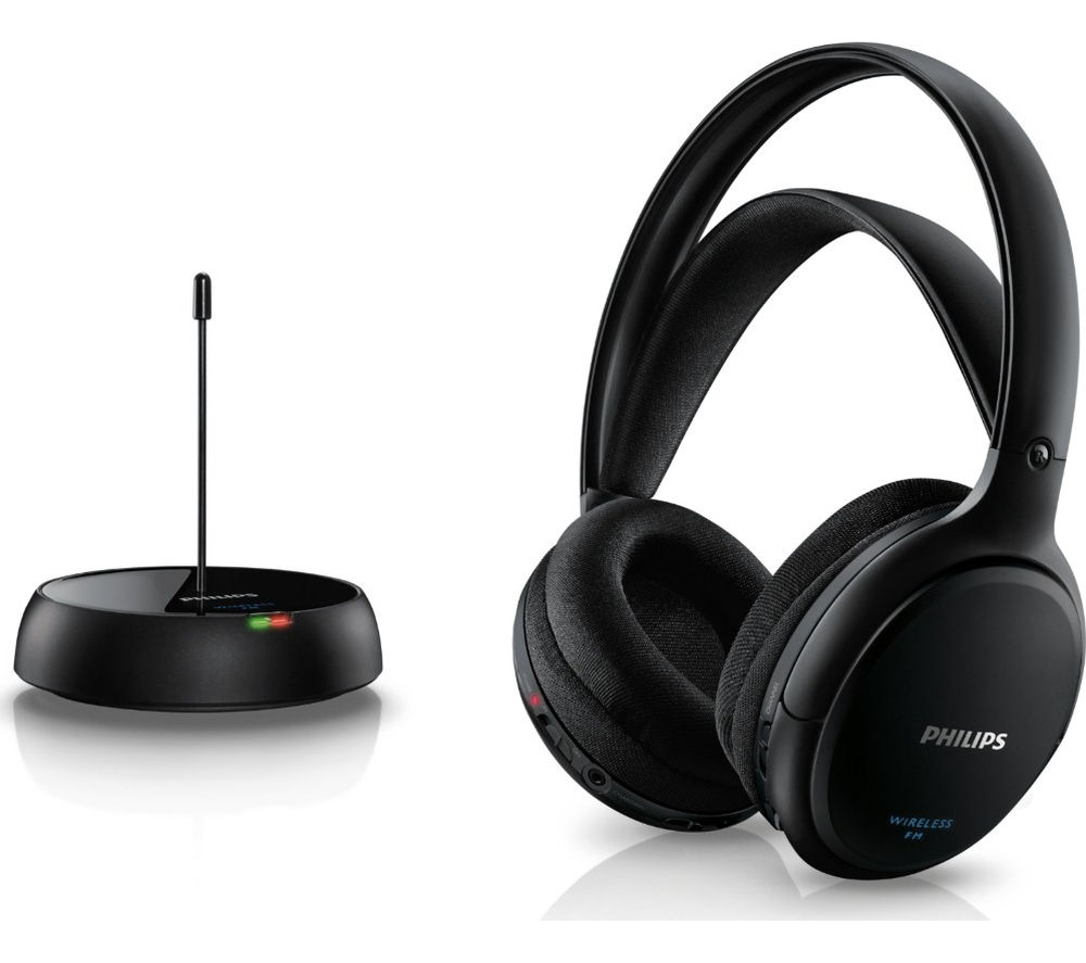 PHILIPS SHC5200/10 Wireless Headphones - Black