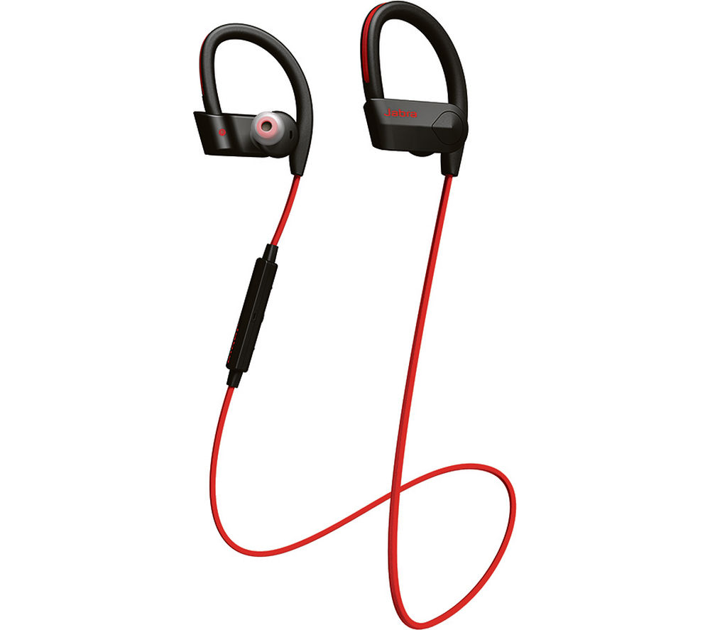 jabra sport pace wireless bluetooth headphones red deals. Black Bedroom Furniture Sets. Home Design Ideas