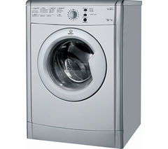 INDESIT EcoTime IDVL75BRS Vented Tumble Dryer - Silver