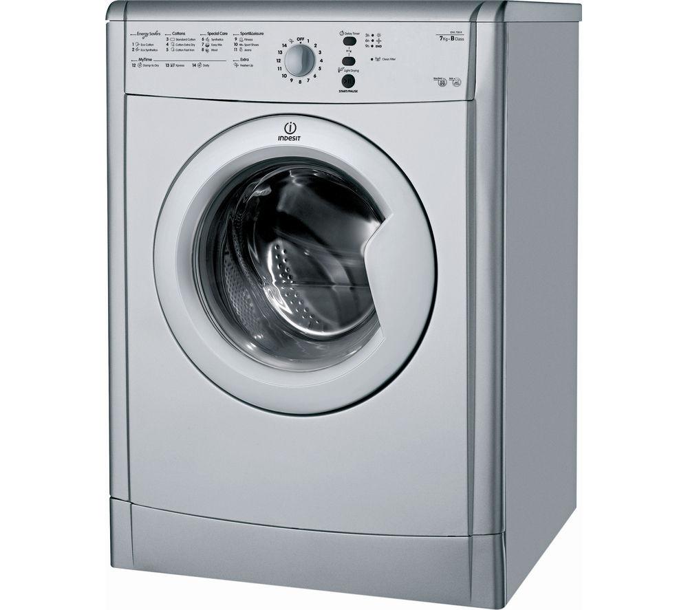 Tumble Dryer Uk ~ Buy indesit ecotime idvl brs vented tumble dryer silver