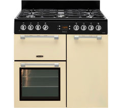 LEISURE Cookmaster CK90F232C Dual Fuel Range Cooker - Cream