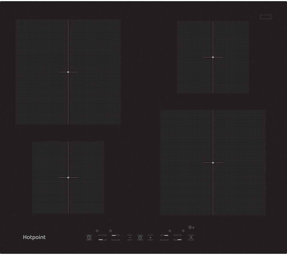 HOTPOINT  CIA 640 C Electric Induction Hob  Black Black