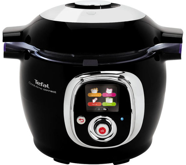 Cy703840 tefal cook4me connect smart multicooker black currys pc world business - Tefal raclette grill john lewis ...