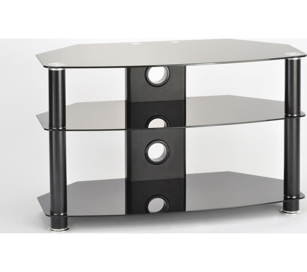 TTAP Classik Curve 1000 TV Stand - Black