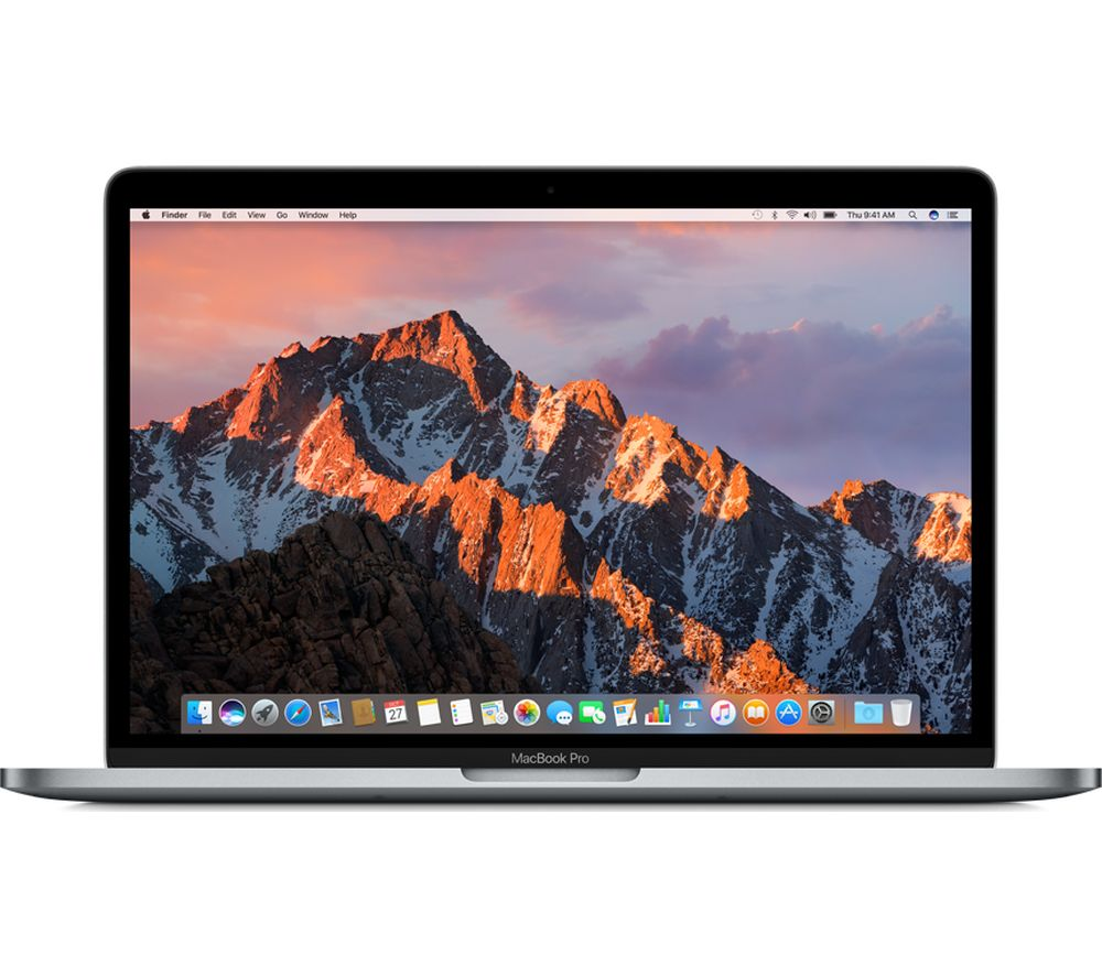 "APPLE MacBook Pro 13"" with Retina Display & Touch Bar - Space Grey + LiveSafe Unlimited 2017 - 1 year"