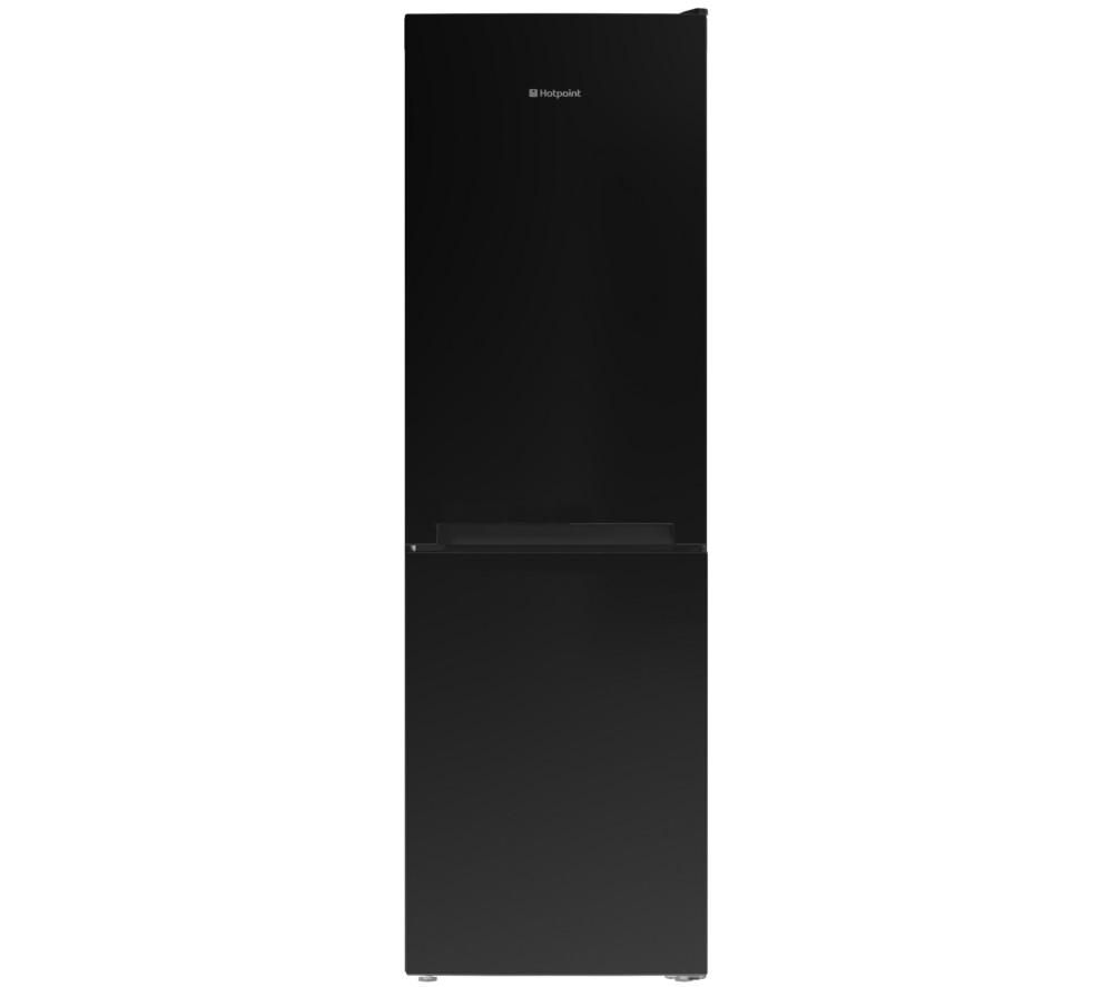HOTPOINT  LC85F1K Fridge Freezer  Black Black
